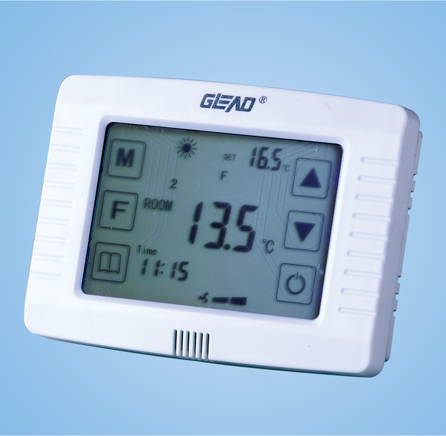 Touch digital LCD display thermostat