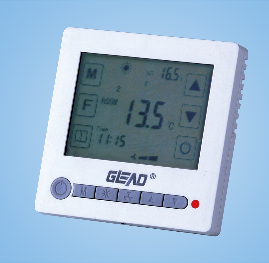 Digital LCD display thermostat