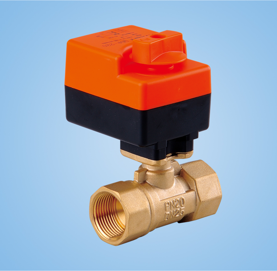 Two - way electric ball valve