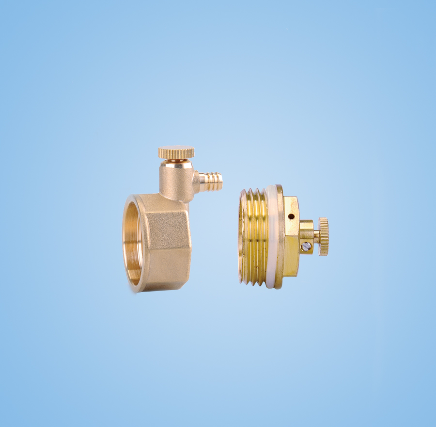 1-inch plug in the ribbon vent valve