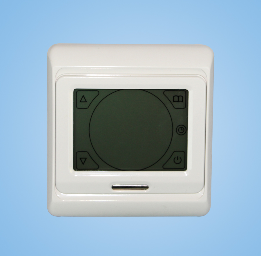 Touch digital display thermostat